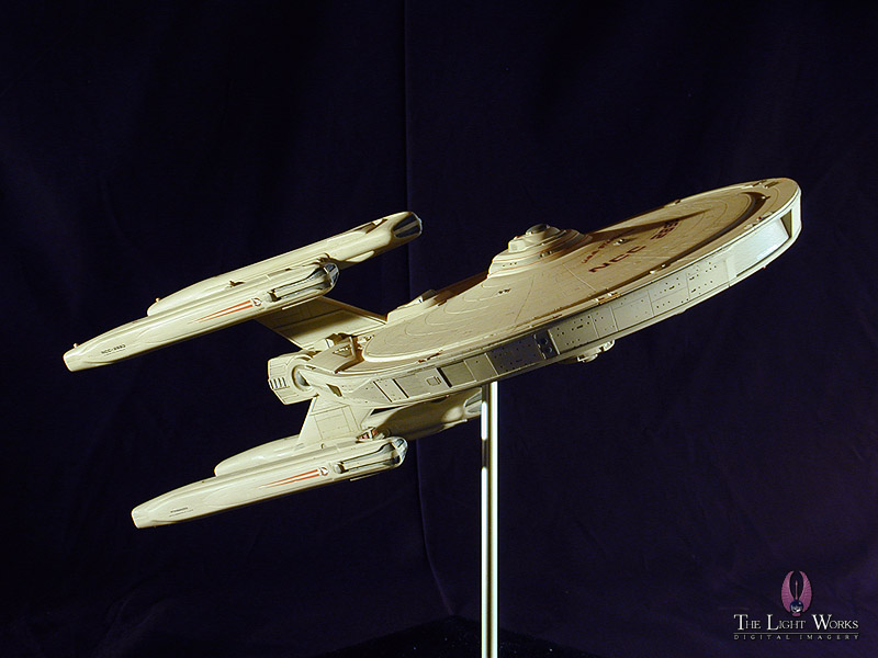 USS Stargazer Model Kit http://www.thelightworks.com/models/model_stargazer.htm